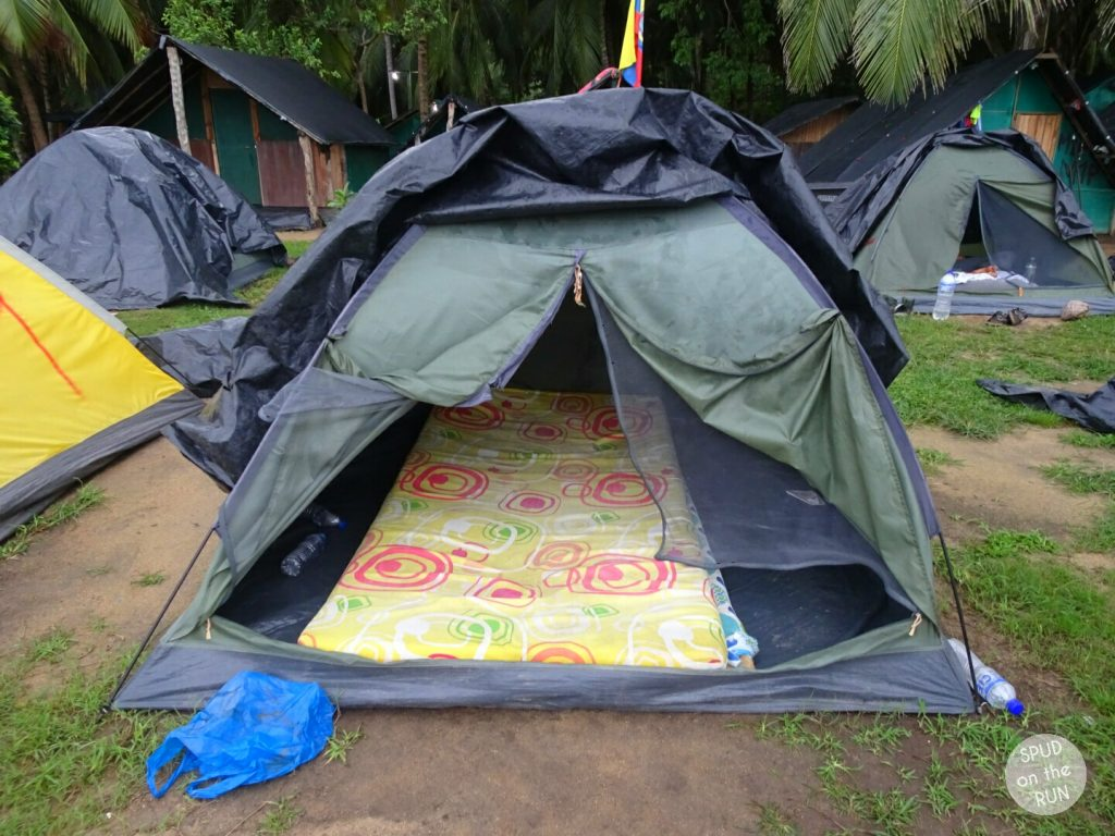 Tayrona National Park - Tent accommodation at Cabo San Juan