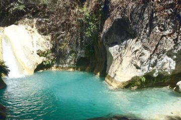 Quiet pools of Posas Azules